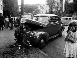 Nostaljik İlk Araba Kazaları