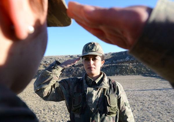 En Güzel Kadın Askerler galerisi resim 13