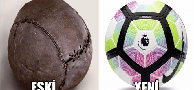 Dünden Bugüne Futbol Topu